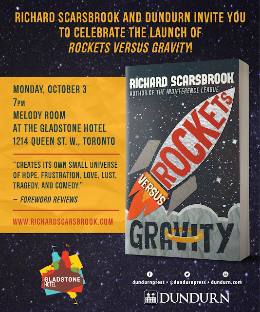Book Launch Party for ROCKETS VERSUS GRAVITY!