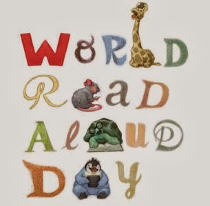 Reading from NOTHING MAN AND THE PURPLE ZERO for World Read Aloud Day