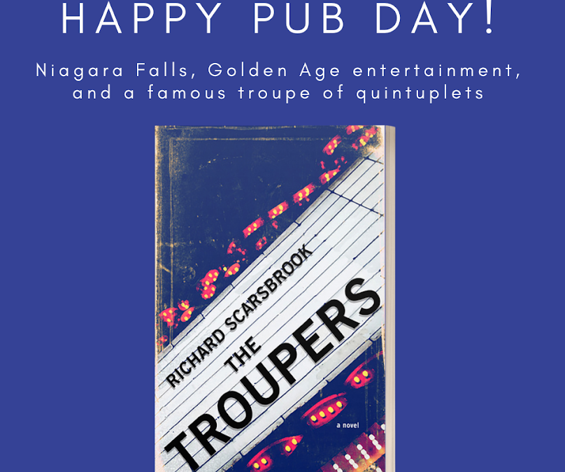 It's OFFICIAL RELEASE DAY for THE TROUPERS!